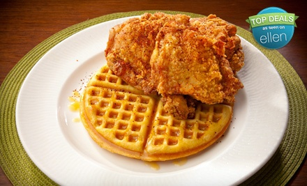 Four Chicken-and-Waffle Entrees ($48 value) - Soul in Honolulu
