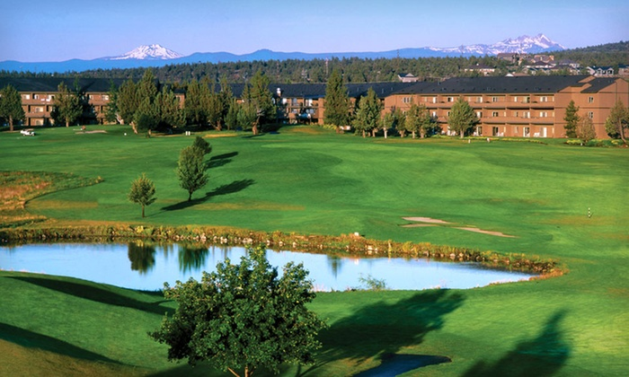Eagle Crest Resort - Eugene: Two-Night Stay for Two Plus Round of Golf or Spa-Service Credit at Eagle Crest Resort in Oregon