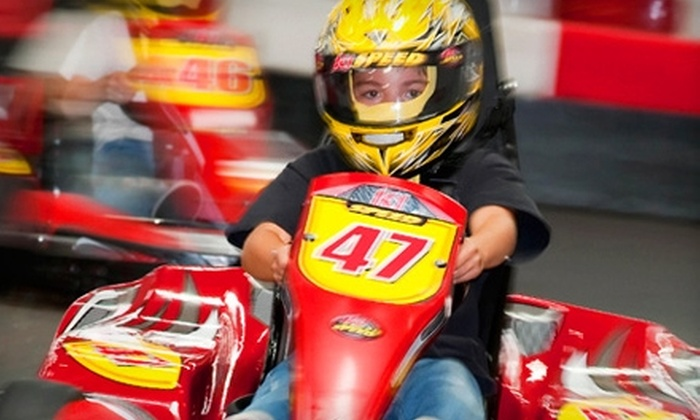 K1 Speed - Multiple Locations: $44 for Four Arrive & Drive Races and Two Annual Race Licenses at K1 Speed ($92 Value)