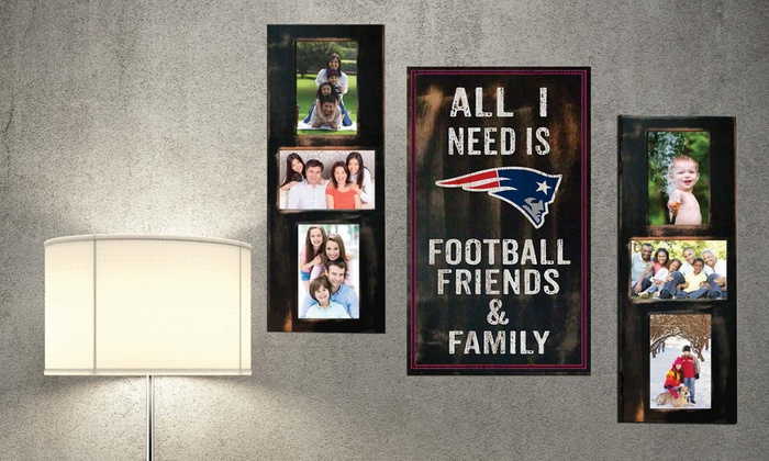 NFL Picture Frame Set (3-Piece)