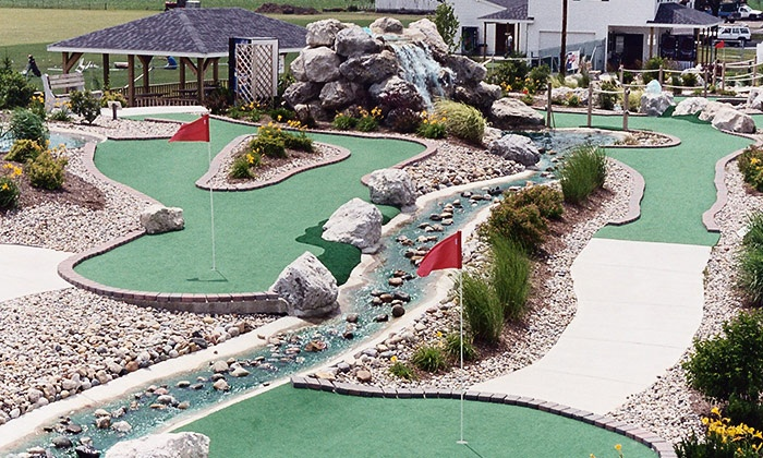Perry Falls Mini Golf - Perrysburg: $6 for Two 18-Hole Rounds at Perry Falls Miniature Golf in Perrysburg (Up to $12 Value)