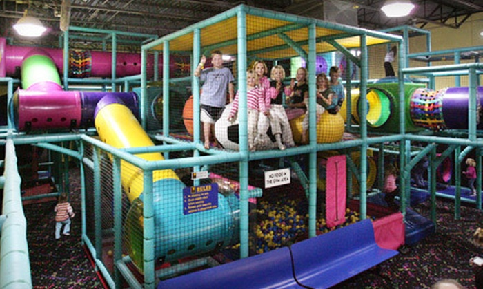 One Stop Fun - Westford: $25 for Five All-Day Indoor-Playground and Climbing-Wall Passes at One Stop Fun ($49.95 Value)