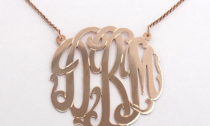 Soter Monogram - Midtown Center: $61 for $110 Worth of Jewelry — Soter Monogram