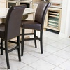 Clifton Bonded-Leather Bar or Counter Stools (Set of 2)