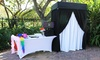Picture Their Faces - Miami: Two- or Three-Hour Photo-Booth Rental Package from Picture Their Faces (Up to 50% Off)