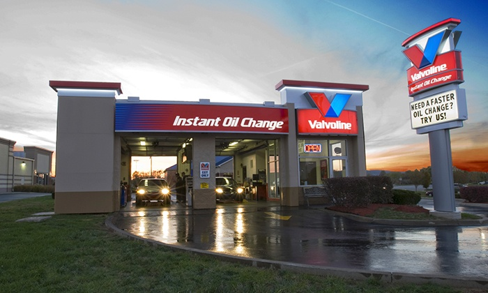 Valvoline Instant Oil Change - Multiple Locations: Conventional, Synthetic-Blend, or Full Synthetic Oil Change at Valvoline Instant Oil Change (Up to Half Off)