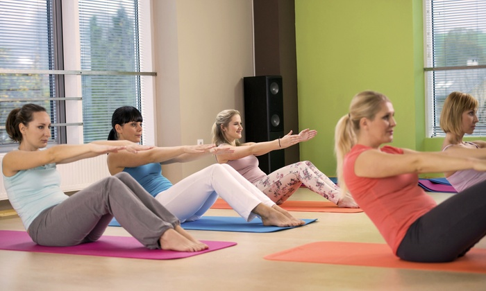 Gateway Hills Health Club - Nashua: $20 for 20 Drop-In Hot Yoga and Hot Pilates Classes at Gateway Hills Health Club ($200 Value)