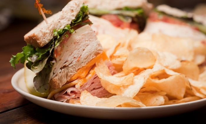 Gert's Grille - College Square: Sandwiches, Soups, or Entree Salads for Two or Four at Gert's Grille (Up to 41% Off)