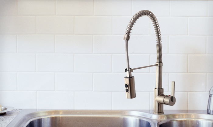 Kingston Brass Gourmetier Kitchen Faucet: $129 for a Kingston Brass Gourmetier Pre-Rinse Kitchen Faucet ($279.95 List Price). Free Shipping and Returns.
