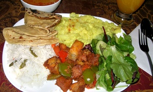 Govinda's: Vegetarian Indian Buffet for Two or Four at Govinda's (Up to 52% Off)