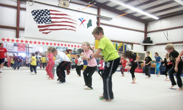 Dudziak's School of Gymnastics - Biddeford: One-Week Gymnastics Day Camp at Dudziak's School of Gymnastics (51% Off). Two Dates Available.