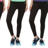 Women's Active Pants with Tummy Control Waistband (4-Pack)
