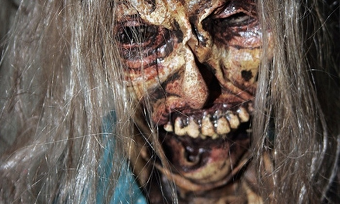 LuLu Shriners - LuLu Shriners Auditorium: Haunted-House Outing for Two or Four at LuLu's House of Horrors (Up to 51% Off)