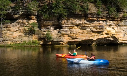 Half-Day Single-Kayak, Double-Kayak, Canoe, or Standup-Paddleboard Rental at Dells Watersports (Up to 51% Off)