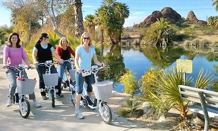 Ezy Ebikes - South Scottsdale: Two-Hour Guided Electric-Bike Tour for Two, Four, or Six from Ezy Ebikes (Up to 50% Off)