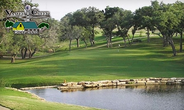 Vaaler Creek Golf Club - Blanco: $25 for 18 Holes of Golf, Cart, and Range Balls at Vaaler Creek Golf Club in Blanco (Up to $67.12 Value)