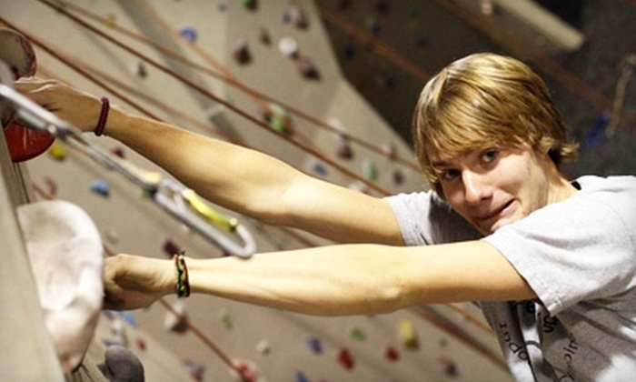 The Crag Indoor Rock Climbing Gym - Brownsburg: $25 for Three Adult Day Passes to The Crag Indoor Rock Climbing Gym in Brownsburg