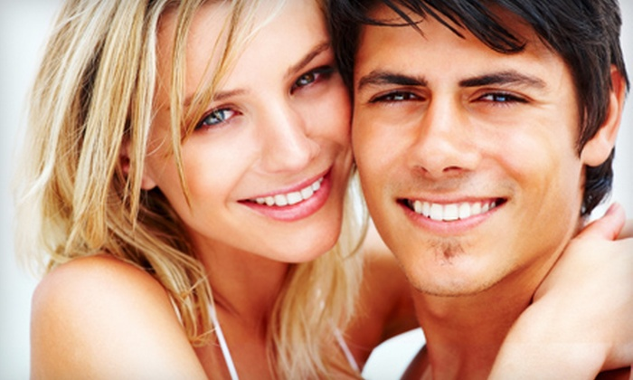Tanning Zone - Meadowlane: Three Months of Red-Light Facial Therapy or 30- or 45-Minute Beaming White Teeth-Whitening Treatment at Tanning Zone