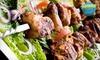 Caspian Cafe - Jefferson Park: Mediterranean Dinner for Two or Four with Appetizer at Caspian Cafe (Up to 52% Off)