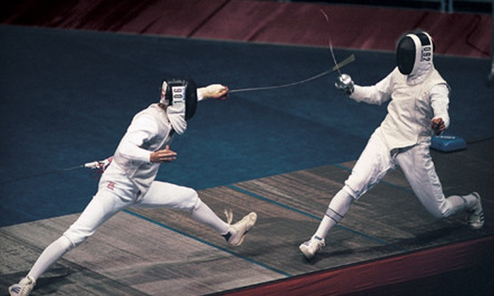 RedStar Fencing Club - North Side: $18 for One 90-Minute Group Fencing Lesson at RedStar Fencing Club ($60 Value)