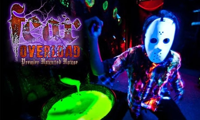 Fear Overload Premier Haunted House - San Leandro: $15 for One VIP Ticket to Fear Overload Premier Haunted House