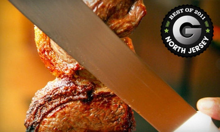 Rio Rodizio - Union: Brazilian Dinner with All-You-Can-Eat Rodizio, Sushi, and Wine for Two or Four at Rio Rodizio in Union (Up to 53% Off)
