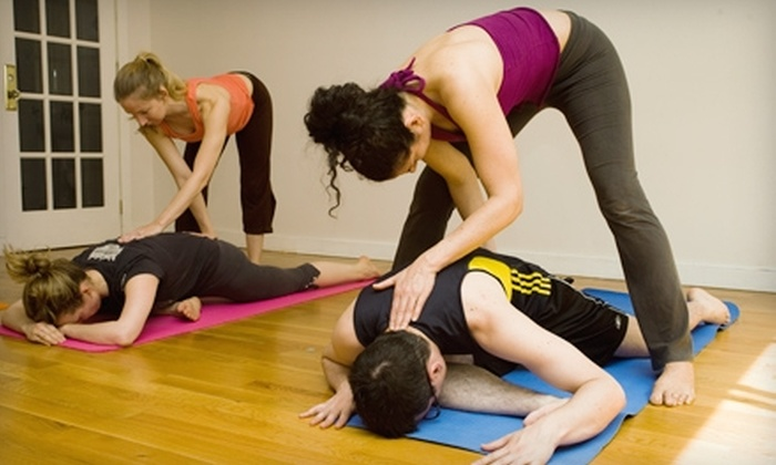 YogaHigh - Lower East Side: $69 for One Month of Unlimited Yoga at YogaHigh ($185 Value)