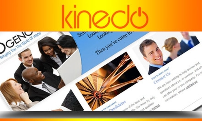 Kinedo Creative Studio - Chicago: $250 for a New Website or Five-Page Website Redesign from Kinedo Creative Studio ($599 Value)