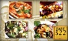 Cafe 322-CLOSED - Sierra Madre: $15 for $30 Worth of Italian Cuisine and Drinks at Cafe 322 in Sierra Madre