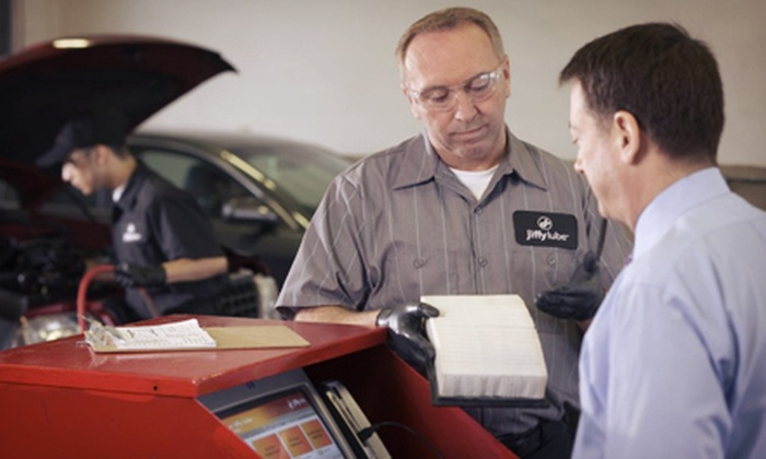 Jiffy Lube - Mt. Pleasant: One or Three Jiffy Lube Signature Service Oil Changes with Battery Diagnostic (Up to 65% Off)
