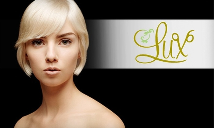 Lux: The Eco-Friendly Salon  - Bethlehem: $59 for Color, Deep Condition, Cut, Style, and $5 Off Hair or Skincare Product at Lux: The Eco-Friendly Salon ($135 Value)