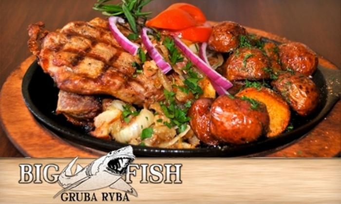 Big Fish Restaurant - Dunning: $15 for $30 Worth of Seafood and Polish Fare at Big Fish Restaurant