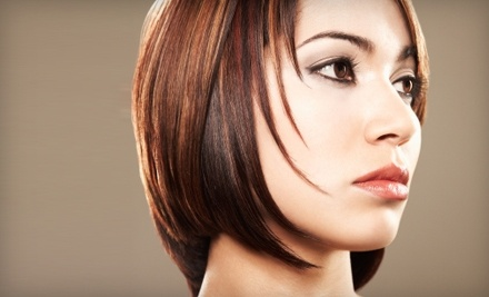 Salon M2: Shampoo and Style and Choice of Facial-Waxing Service - Salon M2 in Charlotte