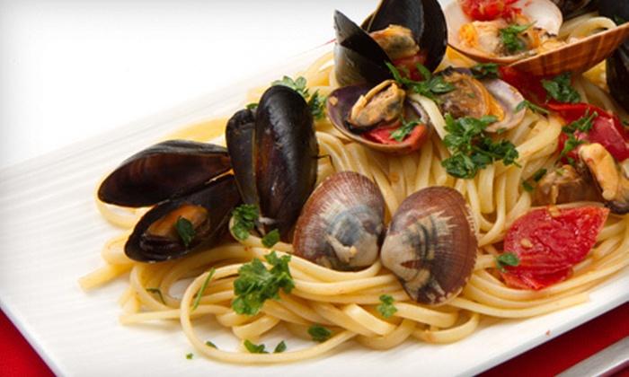 Tre Vigne Restaurant - Vaughan: $20 for $40 Worth of Italian Cuisine at Tre Vigne Restaurant