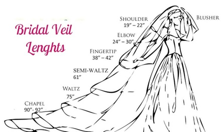 Up to 72% Off Custom Wedding Veils or Dresses at A. Perel Fashion