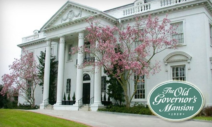 The Old Governor's Mansion - Garden District: $6 for Two Tickets to Tour the Old Governor's Mansion