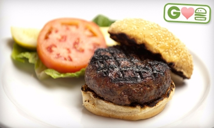 Mim's - Multiple Locations: $8 for Sterling Silver Burger or Turkey Burger Plus Bistro Fries and Soda at Mim's ($15.95 Value)