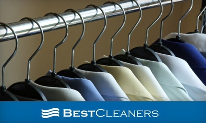 Best Cleaners Dry Cleaners - Multiple Locations: $10 for $20 Worth of Dry Cleaning Services from Best Cleaners. Choose from 11 Locations.