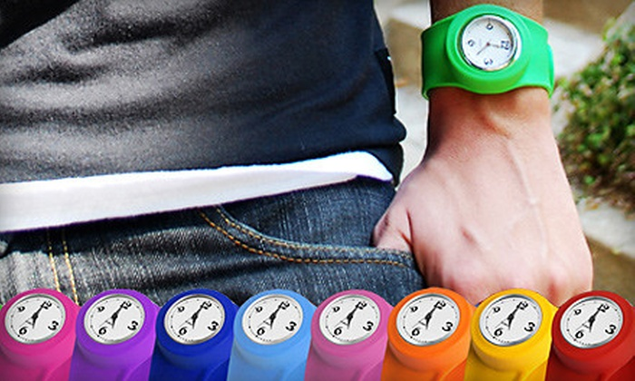 Slap Gear: $10 for Two Slap Watches from Slap Gear ($30 Value)