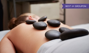 Fountain of Youth Salon & Spa: One or Two Hot-Stone Massages with Option to Add Scalp Massage at Fountain of Youth Salon & Spa (Up to 53% Off)