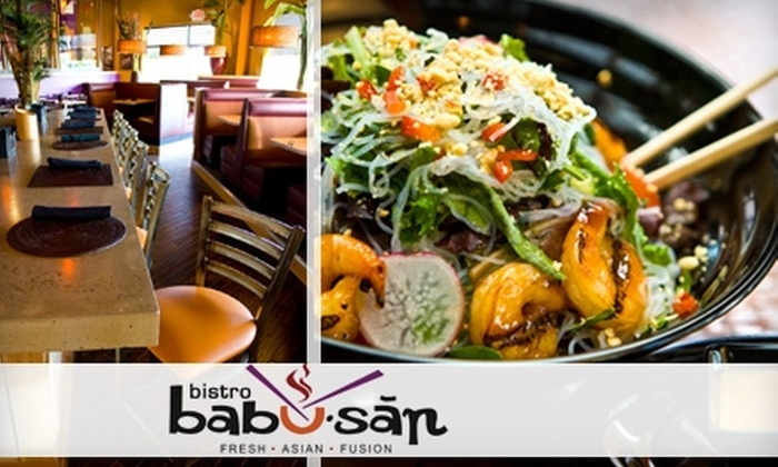 Bistro Babu-san - Summerfield: $10 for $20 Worth of Casual Asian-Fusion Fare at Bistro Babu-san in Fairview