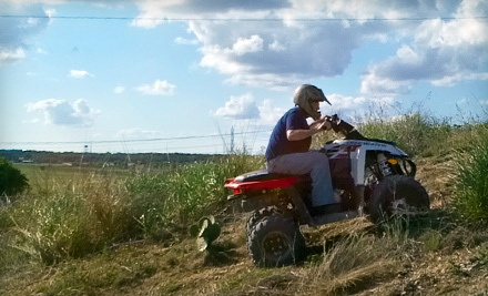 Four-Wheel ATV Adventure for Two (an $88 value) - Roll Rage in New Braunfels
