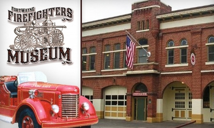 Fort Wayne Firefighters Museum - Downtown Fort Wayne: $4 for Two Tickets to the Fort Wayne Firefighters Museum (Up to $8 Value)