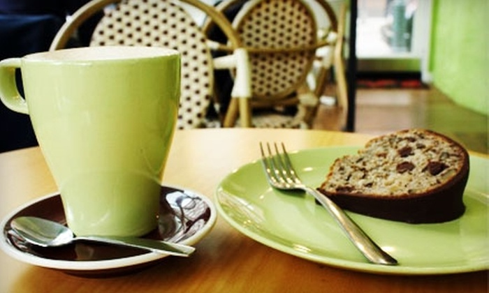 Cake and the Beanstalk - Philadelphia: $5 for $10 Worth of Coffee and Fresh Baked Goods at Cake and the Beanstalk
