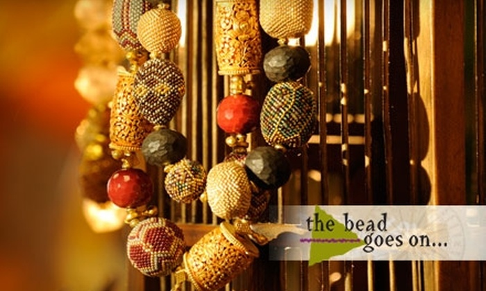 The Bead Goes On - Virginia Beach: $25 for $50 Worth of Beads and More or $16 for a Beginner Beading Class ($35 Value) at The Bead Goes On