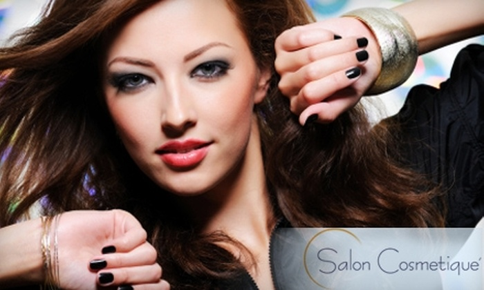 Vatterott College - Saint Charles: $23 for Hair, Nails, and Waxing Spa Package at Salon Cosmetique at Vatterott College in St. Charles ($55 Value)