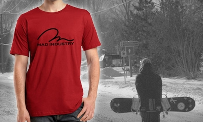 Mad Industry: $20 for $40 Worth of Shirts, Hats, and Apparel from Mad Industry