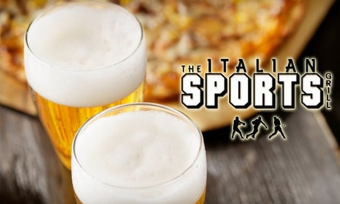 The Italian Sports Grill - Fountainbleau: $10 for $25 Worth of Bar and Italian Fare at The Italian Sports Grill