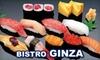 Bistro Ginza - CLOSED - Mason: $10 for $25 Worth of Sushi and Drinks at Sushi Bistro Ginza in Mason