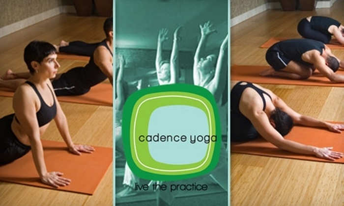 Cadence Yoga - Downtown Oklahoma City: $29 for One Month of Unlimited Yoga at Cadence Yoga